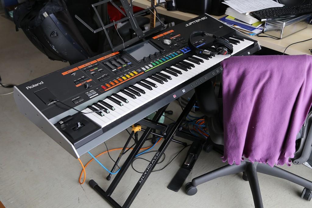 吉田さんのキーボード